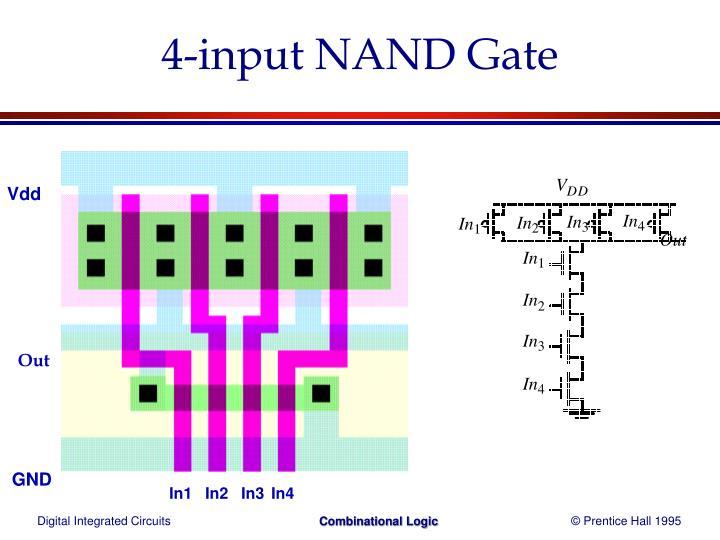 4-input NAND Gate