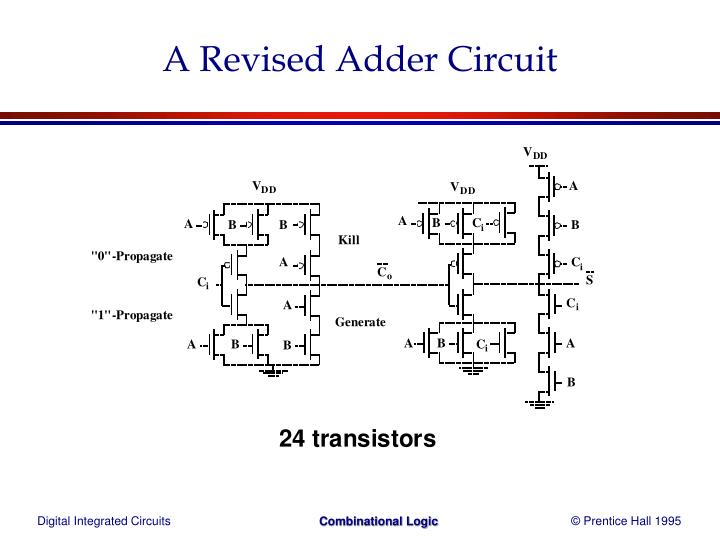 A Revised Adder Circuit
