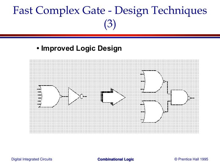 Fast Complex Gate - Design Techniques (3)