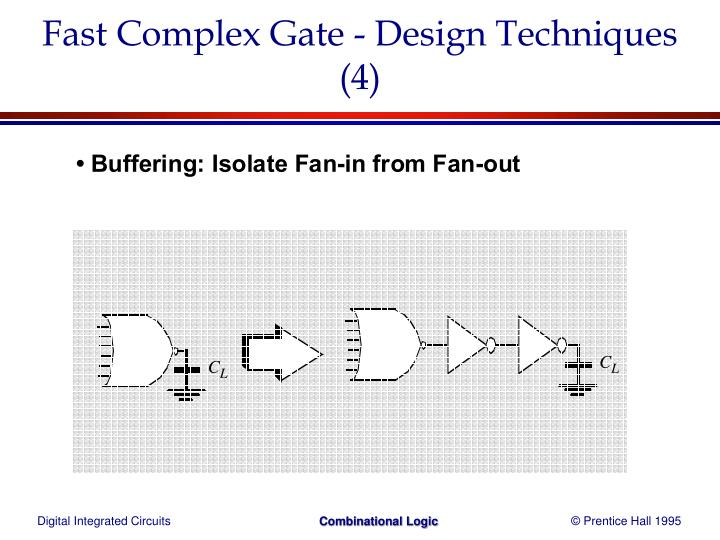Fast Complex Gate - Design Techniques (4)
