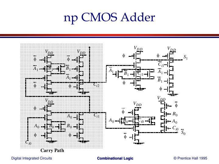 np CMOS Adder