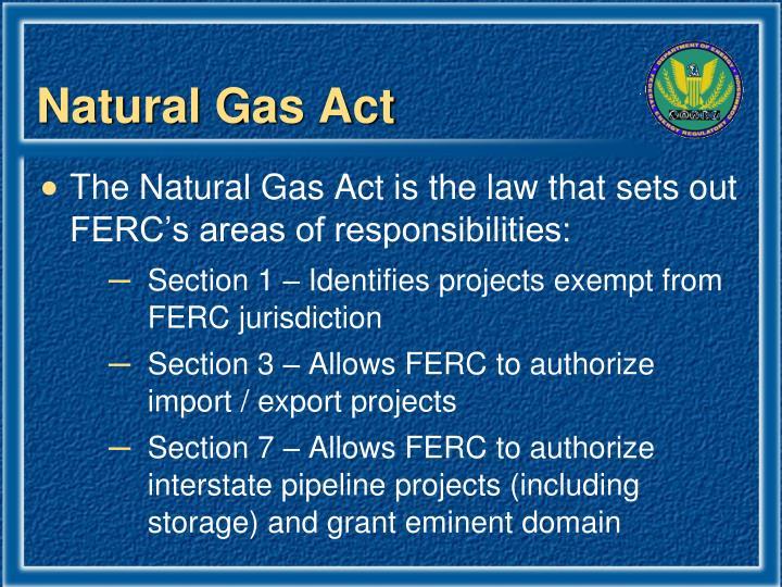 Natural Gas Act