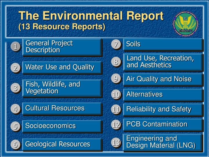 The Environmental Report