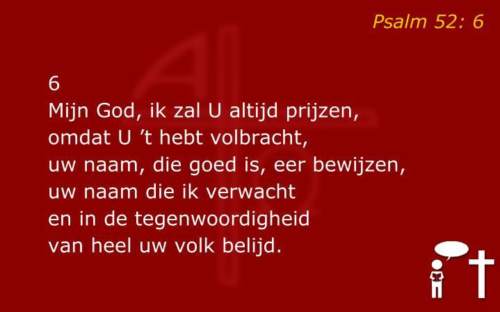 Psalm 52: 6