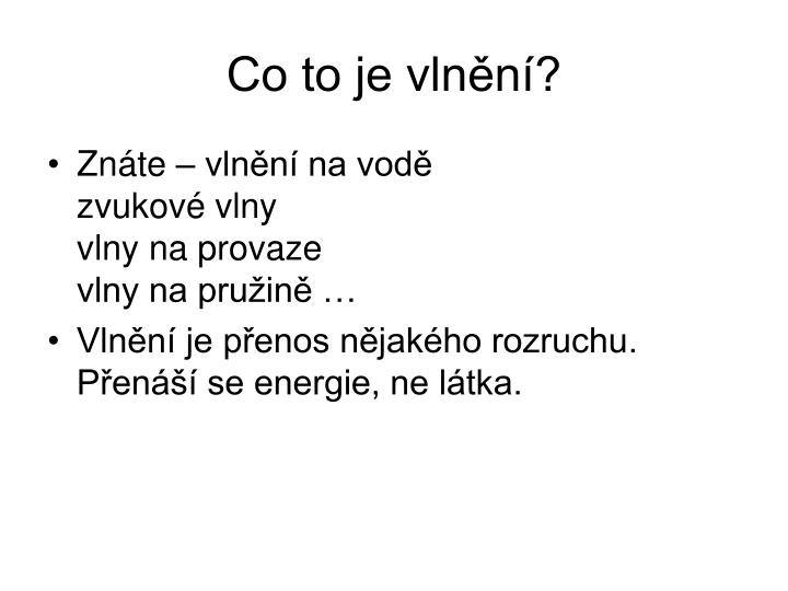 Co to je vln n