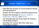 chapter objectives 1 of 2