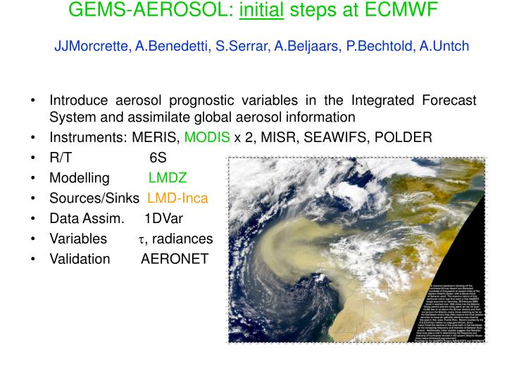 GEMS-AEROSOL:
