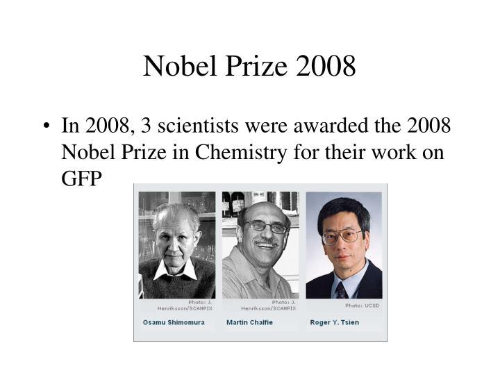 Nobel Prize 2008