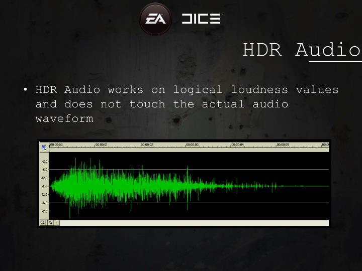 HDR Audio