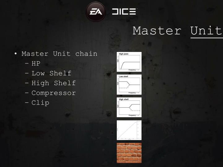 Master Unit