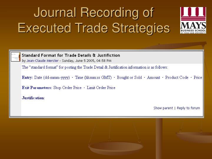 An encyclopedia of trading strategies
