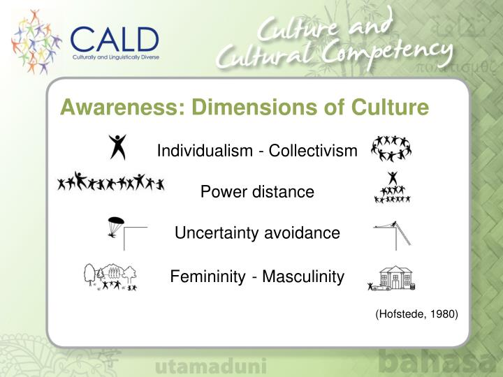 Awareness: Dimensions of Culture