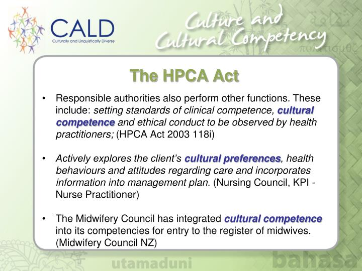 The HPCA Act