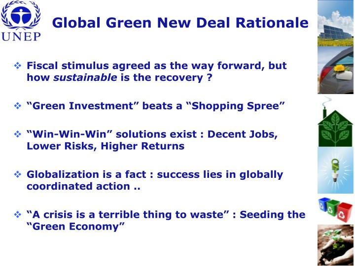 Global Green New Deal Rationale