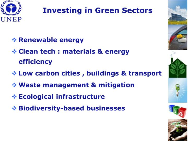 Investing in Green Sectors