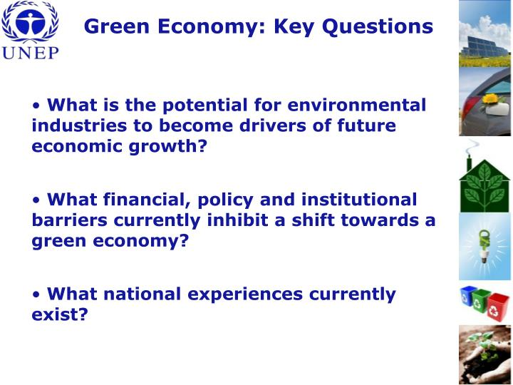 Green Economy: Key Questions
