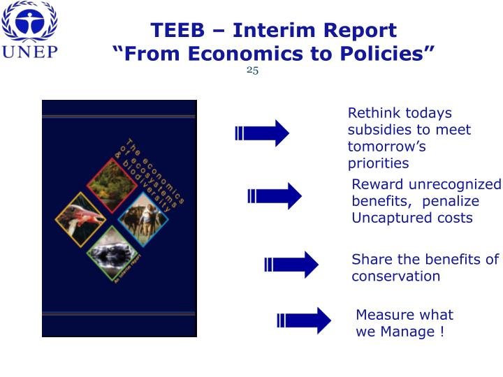 TEEB – Interim Report