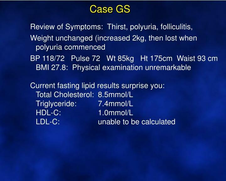 Case GS