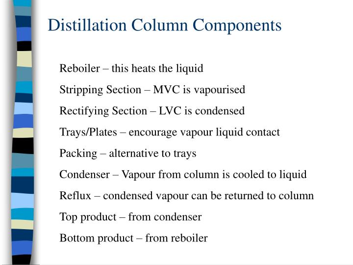 Distillation Column Components