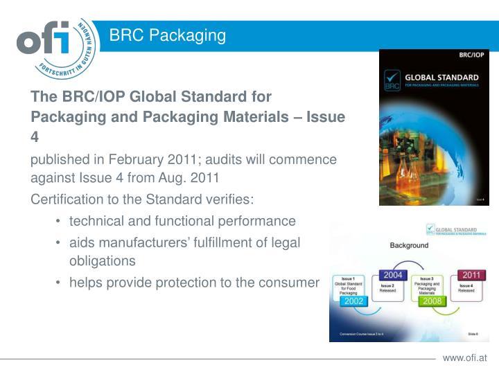 BRC Packaging