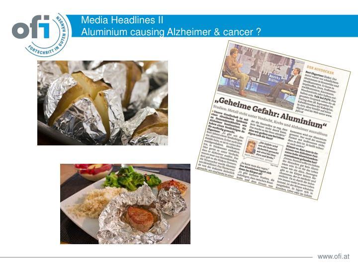 Media Headlines II