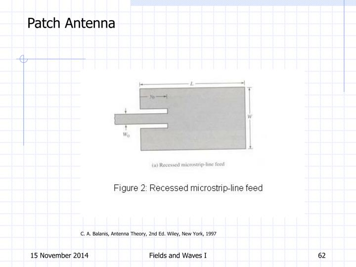 Patch Antenna
