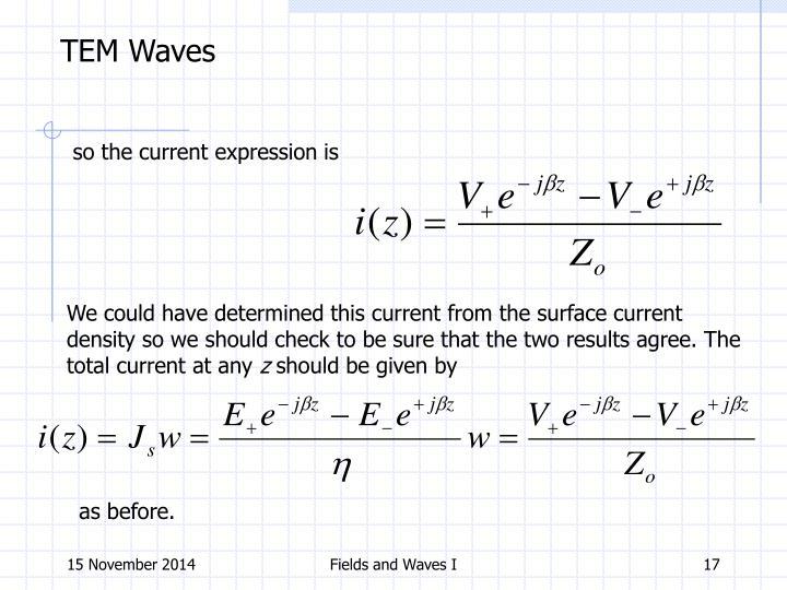 TEM Waves