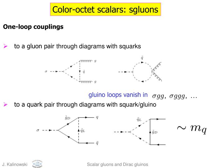 Color-octet scalars: sgluons