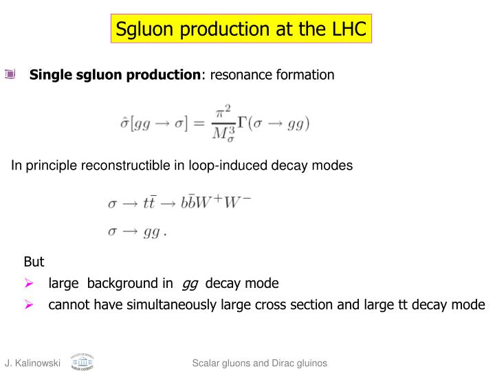 Sgluon production at the LHC