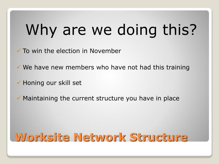 Worksite network structure1