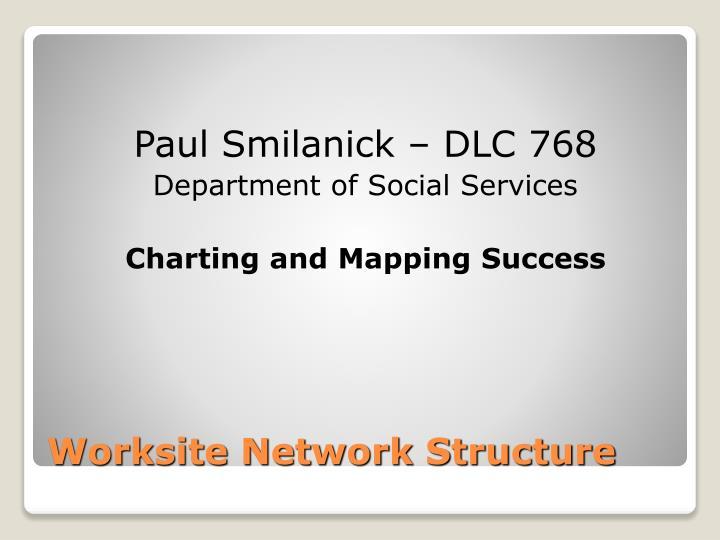 Paul Smilanick – DLC 768