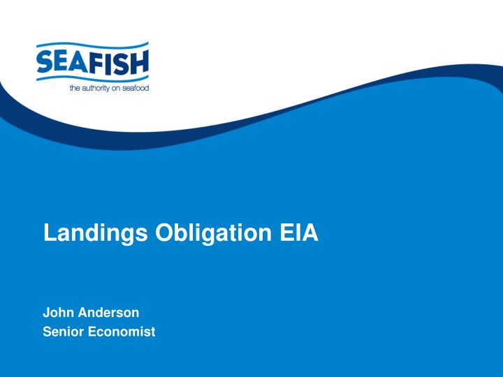 Landings obligation eia