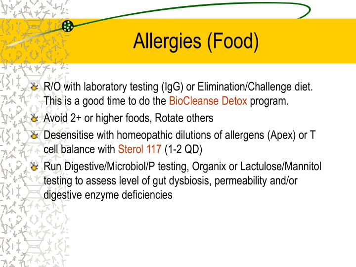 Allergies food