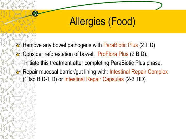 Allergies (Food)