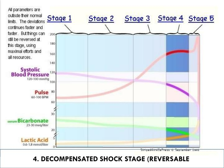 4. DECOMPENSATED SHOCK STAGE (REVERSABLE