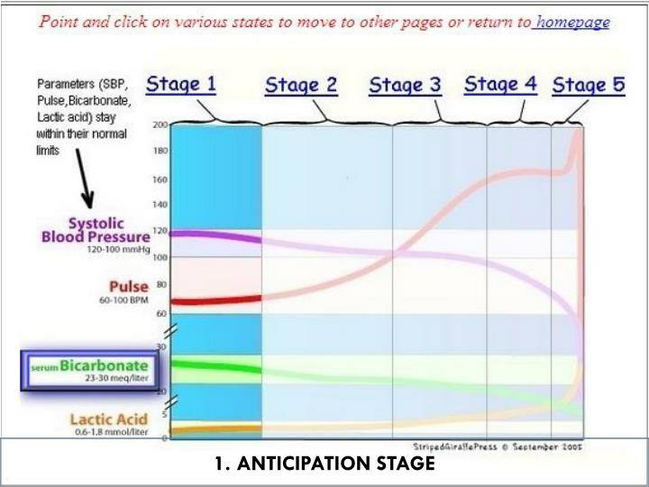 1. ANTICIPATION STAGE
