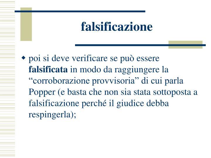 falsificazione