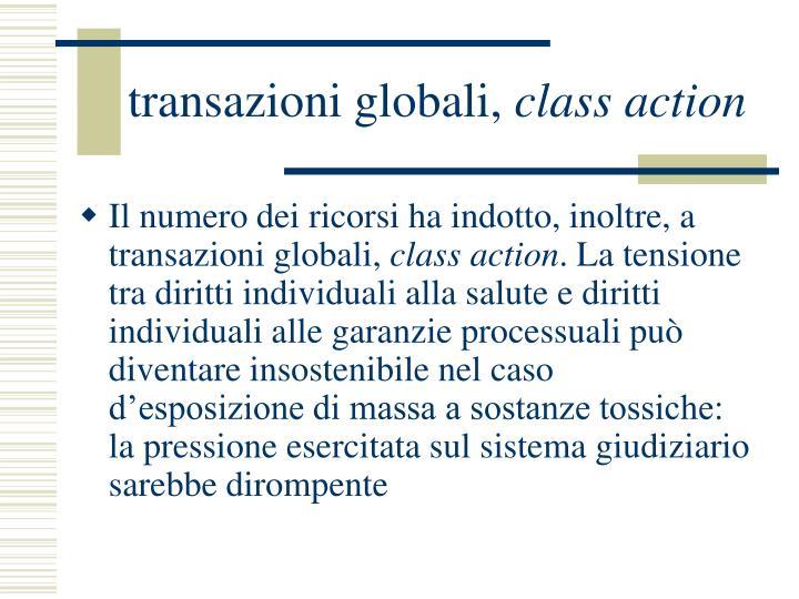 transazioni globali,