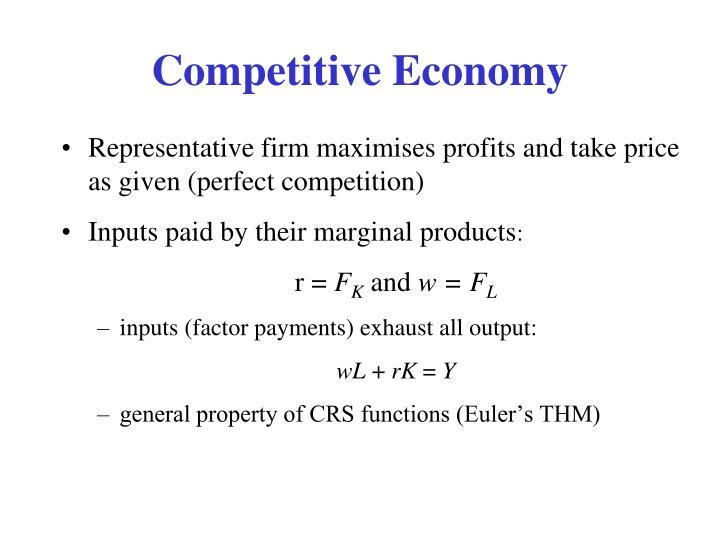 Competitive Economy