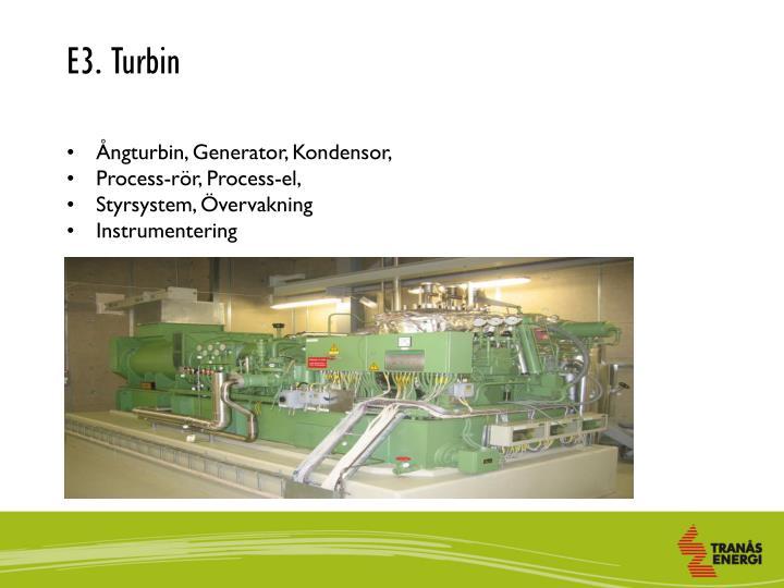 E3. Turbin