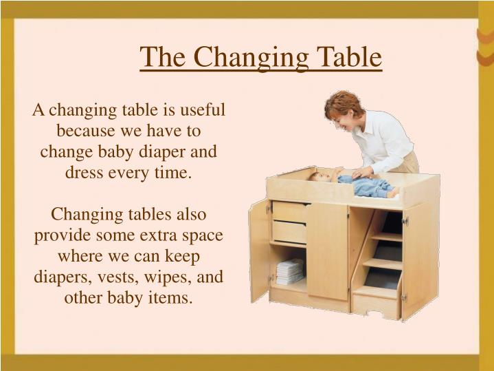 The Changing Table