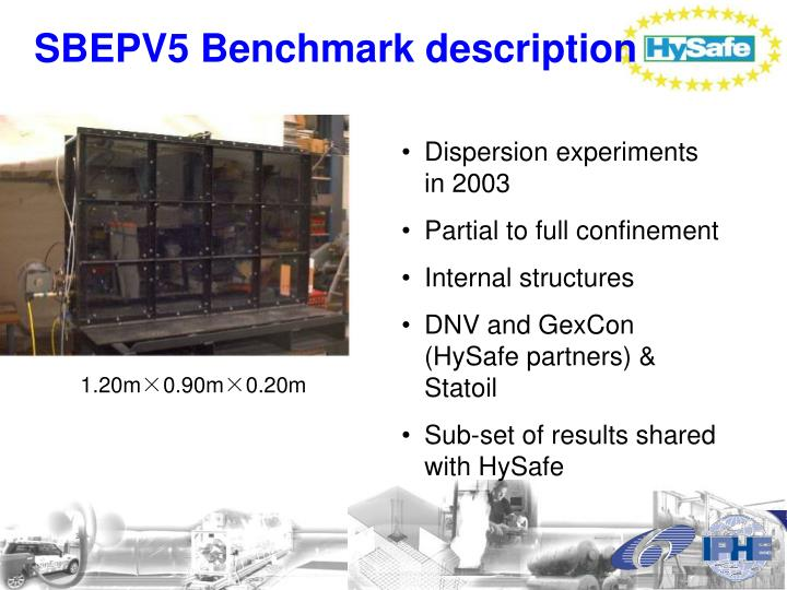 SBEPV5 Benchmark description
