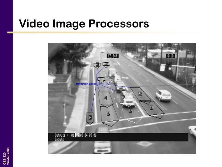 Video Image Processors