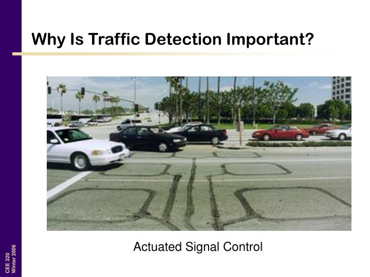 Why Is Traffic Detection Important?