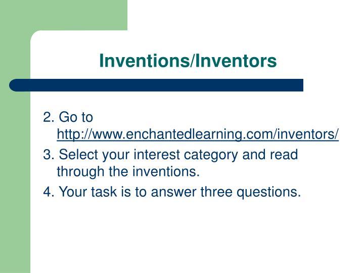 Inventions/Inventors