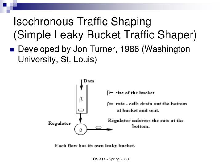 Isochronous Traffic Shaping