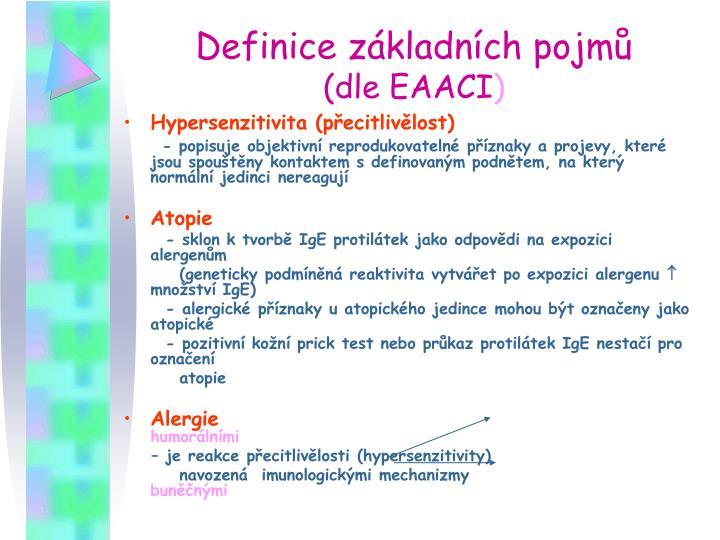 Definice základních pojmů