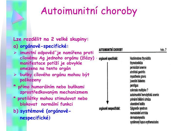 Autoimunitní choroby