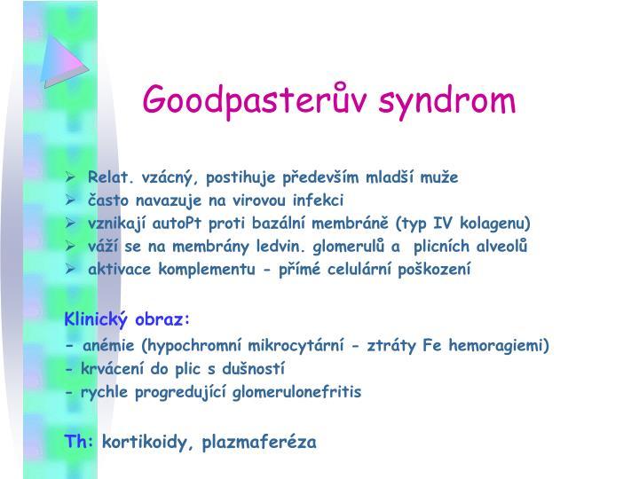 Goodpasterův syndrom
