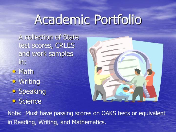 Academic Portfolio